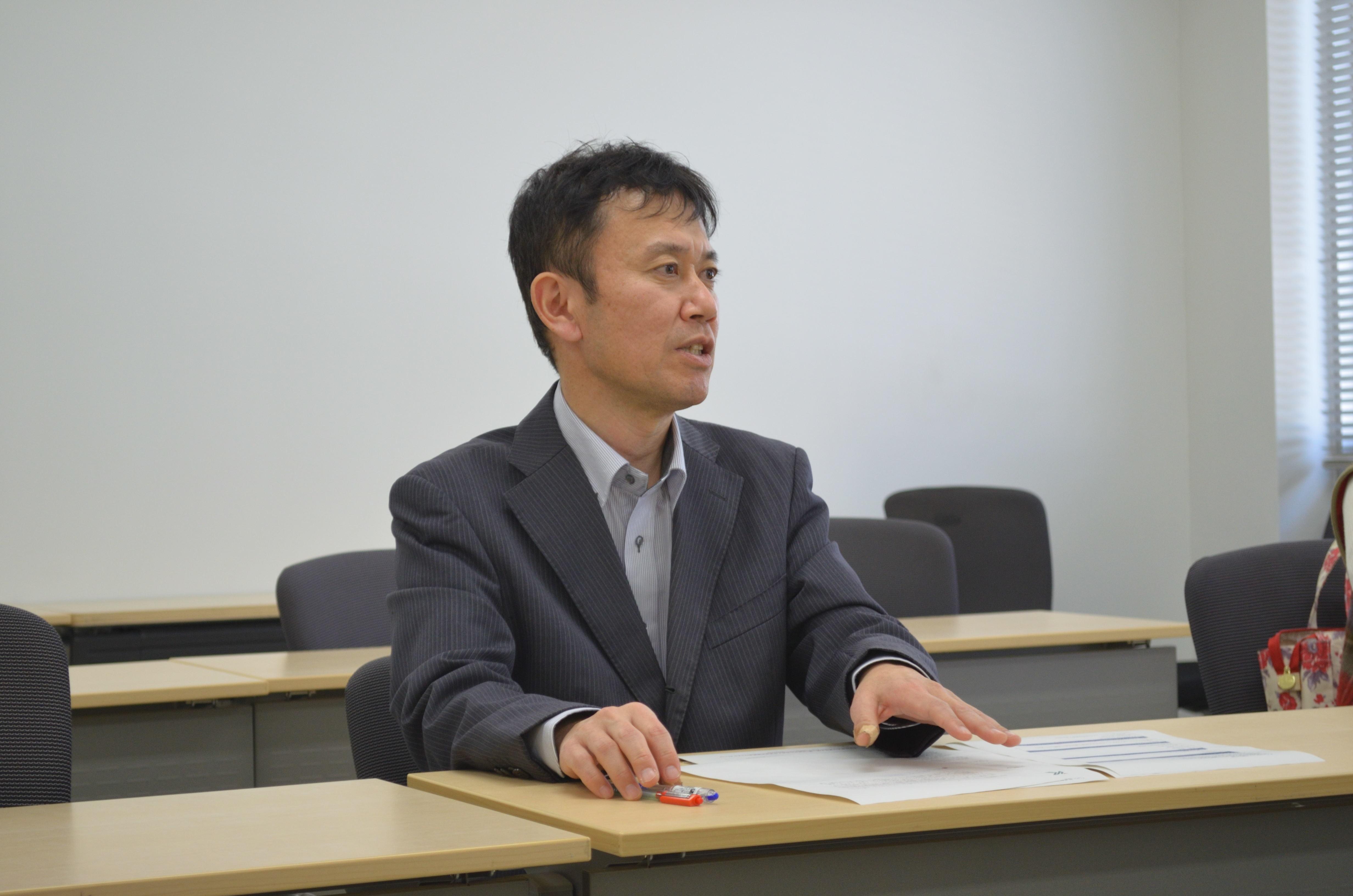 鹿児島大学の竹内准教授